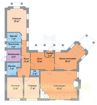 Продается дом, 297 кв.м., Чегодаево д. (Подольский р-н)
